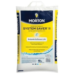 Morton System Saver II Patented Water Softening Pellets