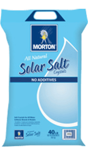 Morton Extra Coarse Solar Salt Crystals