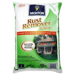 Morton Rust Remover Softening Salt Pellets