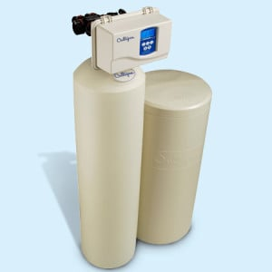 A Culligan High Efficiency (HE) Municipal Water Conditioner