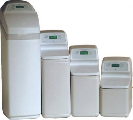 different size water softener systems